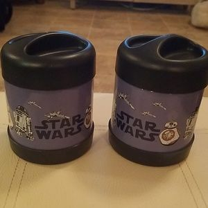 STAR WARS DROID HOT AND COLD CONTAINERS